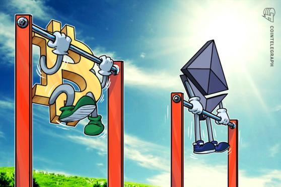 Dopo quattro mesi di movimenti range-bound, Ether è pronto a un rally del 40% rispetto a Bitcoin