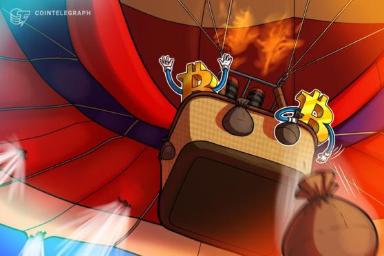 Analisti avvertono: Bitcoin potrebbe scendere sotto i 30.000$ se le azioni crollano